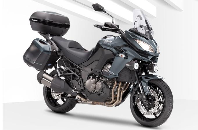 Kawasaki Versys 1000 - Grandtourer mit Koffersystem