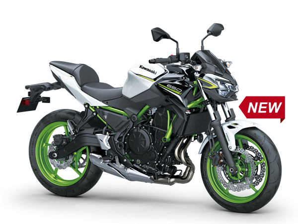 Kawasaki Z650 – mit neuen Farben für 2021
